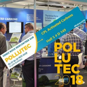 Pollutec 2018 CPL Activated Carbons, Hall 5, D149