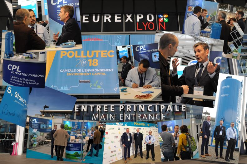 CPL Activated Carbons - Pollutec 2018