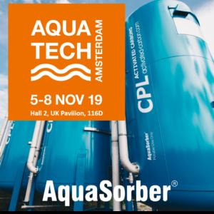 CPL Activated Carbons estará nuevamente presente en la exposición internacional Aquatech, prestigioso evento bianual de cuatro días dedicado a la tecnología de tratamiento de aguas